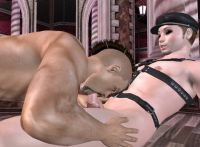 3D GayVilla 2 free 3D gay sex games