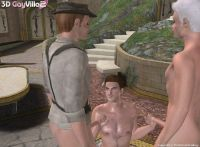 3D GayVilla 2 gay men sex games