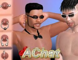 AChat gay porn game